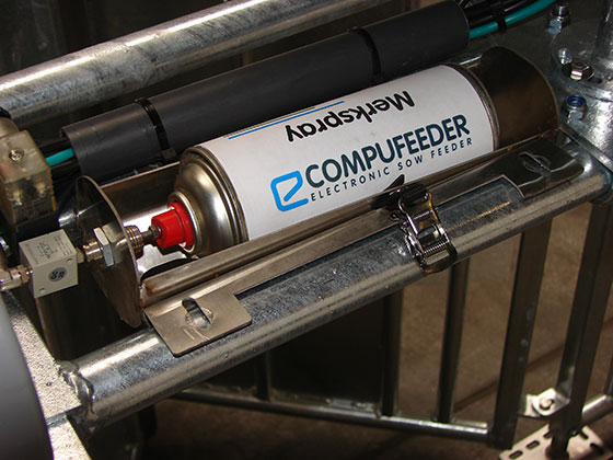Compufeeder verfmarkering
